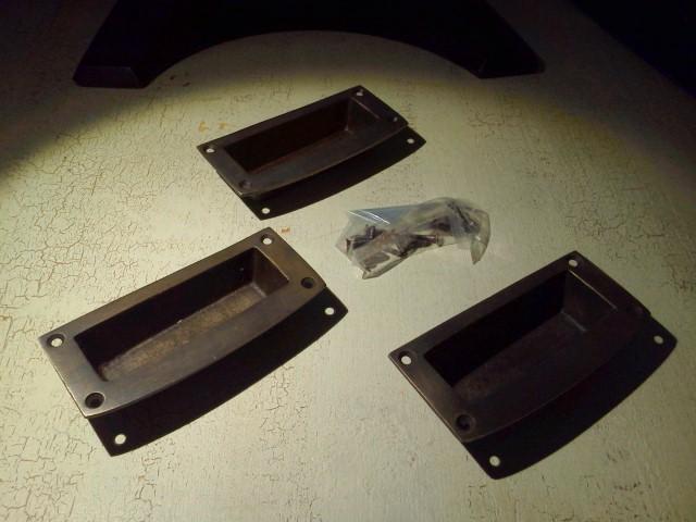 アンティーク風 引き戸 取っ手 真鍮